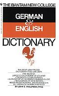 Bantam New College German and English Dictionary