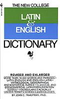 Bantam New College Latin and English Dictionary