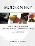 Modern ERP: Select, Implement and Use Today's Advanced Business Systems