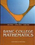 Basic College Mathematics (Custom Edition for Clark College)
