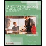 Effective Training Systems, Strategies & Practice