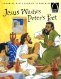 Jesus Washes Peter's Feet The Story of Jesus Washing the Disciple's Feet, John 13 1-12 for C...