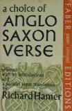 Choice of Anglo-saxon Verse