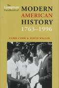 Longman Handbook of Modern American History, 1763-1996 - Chris Cook - Hardcover