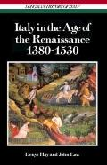 Italy in the Age of the Renaissance, 1380-1530