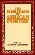 Heritage of African Poetry An Anthology of Oral and Written Poetry