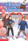Trouble with Valentines - Elaine Moore - Paperback