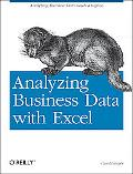 Analyzing Business Data With Excel