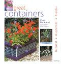 Great Containers Making - Decorating - Planting