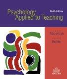 Psychology Applied To Teaching With Upgrade Cd-rom And Web, Ninth Edition