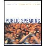 Public Speaking, Second Edition