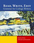 Read, Write, Edit Grammar for College Writers