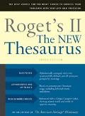 Roget's II the New Thesaurus
