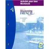 Discovering French Bleu 1: Activities Pour Tous WORKBOOK (French Edition)