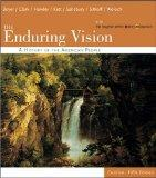 Enduring Vision A History of the American People, Concise
