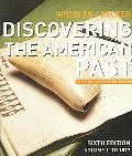 Discovering the American Past A L