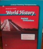 McDougal Littell World History: Critical Thinking Transparencies Grade 6 Medieval and Early ...