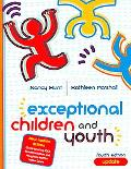 Exceptional Children and Youth