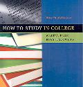 How to Study in College 9e