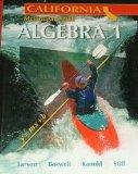 Holt McDougal Larson Algebra 1 California: Student Edition 2007