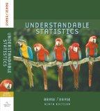 Brase Understandable Statistics Student Solutions Manual Ninth Edition