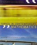 Topics in Contemporary Mathematics with Student Solutions Manual (Special Edition for the Un...