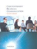 Contemporary Business Communication (Hardcover)