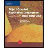 Object-Oriented Application Development Using Microsoft Visual Basic .NET (Programming)