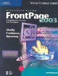 Microsoft Office Frontpage 2003 Comprehensive Comcepts and Techniques