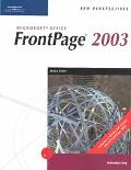 New Perspectives on Microsoft Frontpage 2003 Introductory