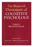 Blackwell Dictionary of Cognitive Psychology