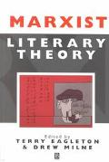 Marxist Literary Theory A Reader