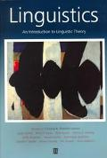 Linguistics An Introduction to Linguistic Theory