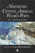 Nineteenth-Century American Women Poets An Anthology
