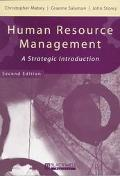 Human Resource Management A Strategic Introduction