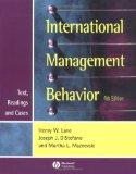 International Management Behavior: Text, Readings and Cases (Blackwell Business)