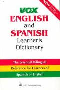 Vox English and Spanish Learner's Dictionary