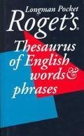 Longman Pocket Roget's Thesaurus