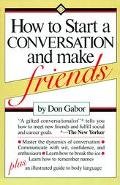 How to Start Conversation+make Friends
