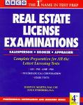 Real Estate License Examinations: Salesperson and Broker - Joseph H. Martin - Paperback
