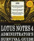 Lotus Notes: Administration Survival Guide - Leslie Lesnick - Hardcover - BK&CD-ROM