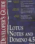Lotus Notes and Domino 4.5 Developer's Guide