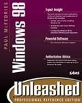 Paul McFedries' Windows 98 Unleashed  Professional Reference
