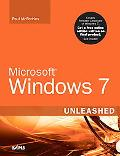 Microsoft Windows 7 Unleashed