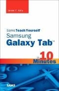 Sams Teach Yourself Samsung GALAXY Tab  in 10 Minutes (Sams Teach Yourself -- Minutes)