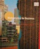 Mathematics for Business - Stanley A. Salzman - Paperback - 4th ed