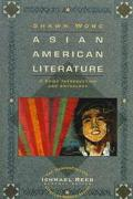Asian American Literature A Brief Introduction and Anthology