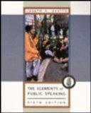 Elements of Public Speaking