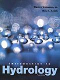 Introduction to Hydrology