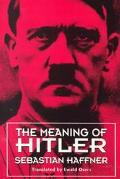 Meaning of Hitler
